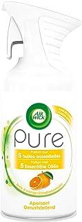 Air Wick Desodorisant Maison Aérosol Pure Huiles Essentielles Apaisant 250 ml
