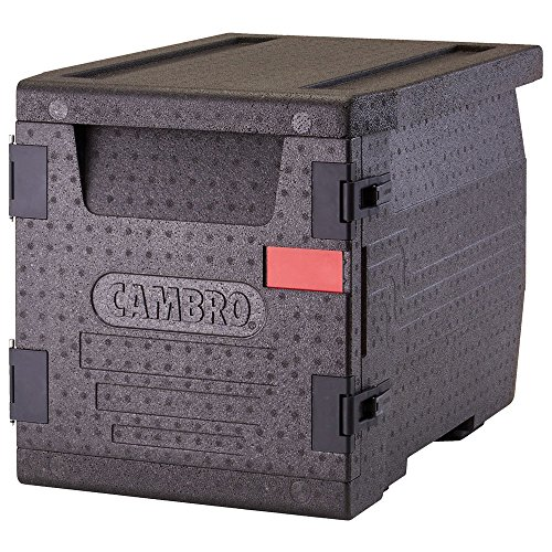 CAMBRO - Cam Go Box Contenedor Isotermico Epp, Plástico, Negro, 65x46x49cm