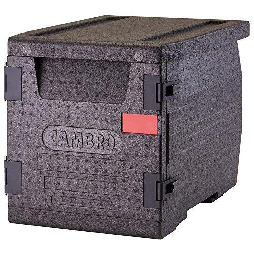 CAMBRO - Cam Go Box Contenedor Isotermico Epp, Plastico, Negro, 65x46x49cm