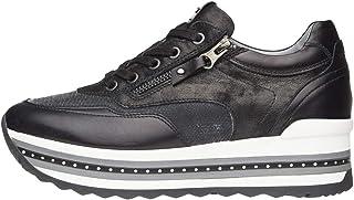 Nero Giardini A806600D Sneakers Donna in Pelle E Tela