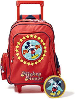 Disney The Real Deal Mickey Trolly - 16 Inch