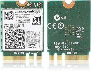 Tarjeta de Red para Intel, Tarjeta de Red Inalámbrica de Doble Frecuencia para Intel 7260/AC 867Mbps Tarjeta de Red NGFF/M2 para Lenovo/ThinkPad