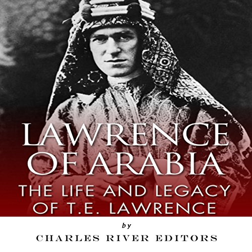 Lawrence of Arabia audiobook cover art