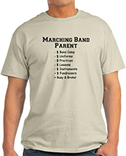 Marching Band Parent Light T-Shirt Cotton T-Shirt