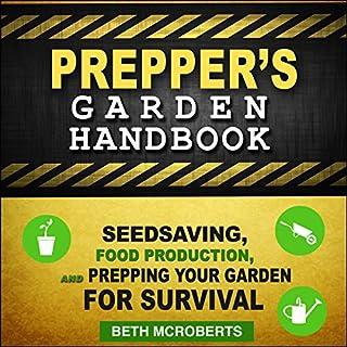 Preppers Garden Handbook audiobook cover art