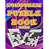 Nonograms Puzzle Book 15x15 for adults: Fun Logic Puzzles With Solutions: mahjong Griddler Picross Nonogram Puzzles for kids (Children's Activity Books) , White Paper (Nonogram Puzzle Notebook)