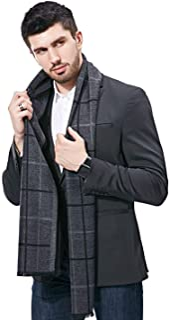 FULLRON Men Winter Cashmere Scarf Soft Warm - Long Cotton Scarves