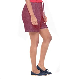 EASY 2 WEAR ® Women Denim Shorts - Elastic Waistband with Drawstring - (XS to 4XL) - Loose and Long