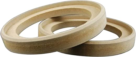 """Nippon RING8GR 8"""" MDF Speaker Ring with Bevel, Pair"""