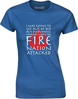 Brand88 - Until The Fire Nation Attacked, Ladies T-Shirt