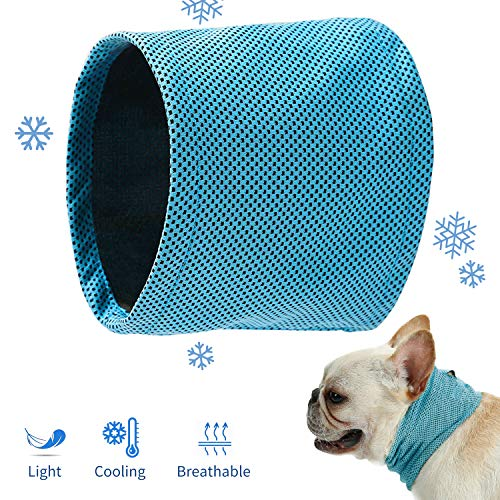 Toozey Kühlhalsband für Hunde Kühl Halsband-L
