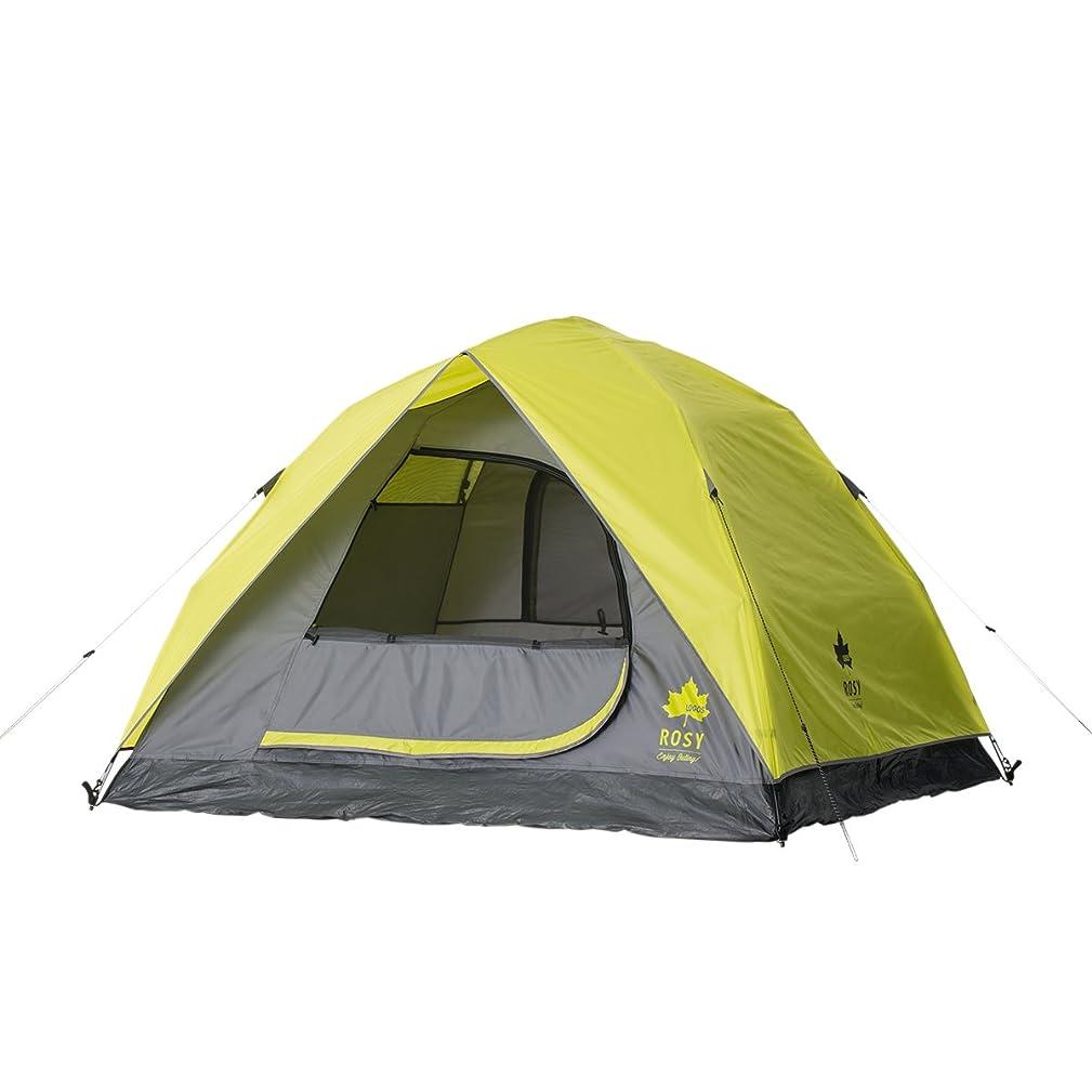 スタウトバッフル名前を作るロゴス(LOGOS) テント ROSY Q-TOP サンドーム M [2~3人用] ハーフフライ タイプ キャリーバッグ付き