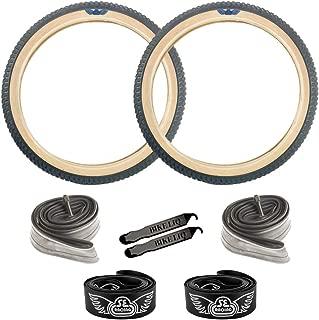 SE Bikes Cub OEM BMX Durable Wire Bead Replacement Dirt Street Bike Tire Tube Rim Strip Lever Kit Bundle