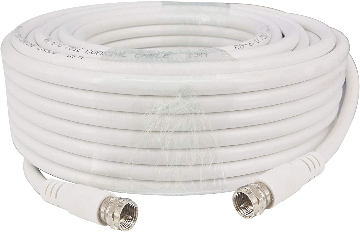 TV Brand Cheap Sale Venue Coax White Cable Weather Proof Coaxia Male RG6 F Branded goods to with