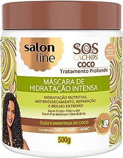 Creme Tratamento 500G SOS Coco Unit, Salon Line
