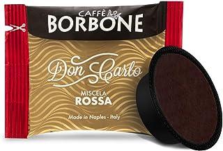 CAFFÈ BORBONE DON CARLO - MISCELA ROSSA - Box 100 A MODO MIO COMPATIBELE CAPSULES 7.2g