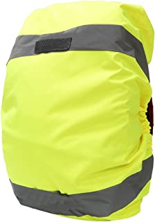 AYKRM Reflective Backpack Cover, Rucksack Cover, Bag Rain Cover, High Visibility, Waterproof, Rainproof, Ideal for Cycling and Running