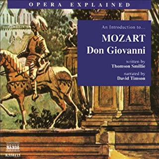 Don Giovanni audiobook cover art