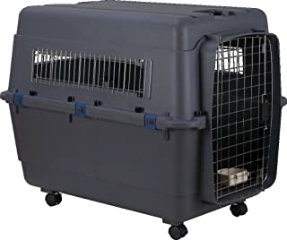 Smarty Pet Plastic Paws for A Cause Lata Approved Fight Cage with Wheels (Black, 40 Inch)