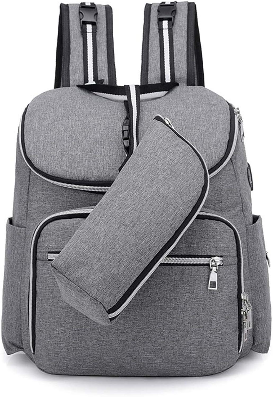 Trend Trend Trend Mummy Bag Multifunktions Große Kapazität Damen Rucksack Fashion Out Reise Mutter und Baby Paket Mutter Rucksack B07GXGQ7NT | Abrechnungspreis  4a3b37