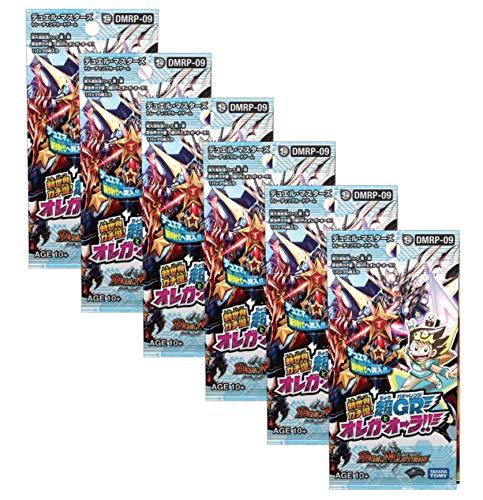 【6パックセット】DMRP-09 デュエル・マスターズTCG 超天篇 拡張パック第1弾 新世界ガチ誕!超GRとオレガ・オーラ!!
