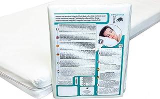 Funda antiácaros integral de colchón para cama doble – eficacia certificada - Sin recubrimiento plástico o tratamiento - Garantía de 10 años – Hecha en francia