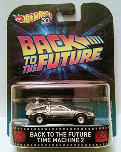 Hot Wheels 2018 Retro Entertainment. Back to The Future Time Machine 2 DeLorean