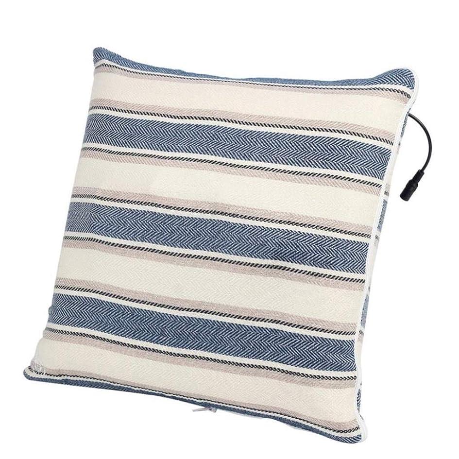 幅深遠夫婦電動マッサージ枕、背中、首、肩、足の3D指圧マッサージャーで筋肉をほぐし、痛みを和らげ、持ち運びが簡単