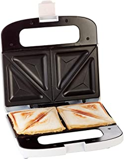 Ariete 1984 Sandwichera, 750 W, marca en sandwich en 2 partes, placas antiadherentes, recogecable, luz encendido, posición...