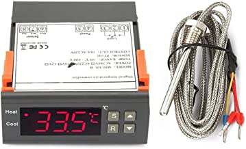 Digital Thermostat Adjustable Electronic Microcomputer Temperature Controller Switch MH1301B