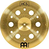 """Meinl Cymbals 18"""" Trash China with Holes – HCS Traditional Finish Brass for Drum Set, Made In..."""