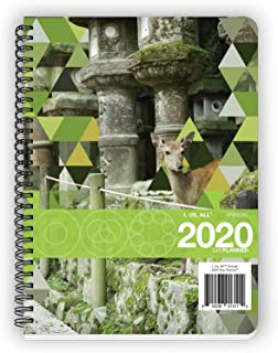 I, Us, All Annual Dated 2020 DayPlanner Medium (6.625 x 9 inches) Weekly & Monthly Organizer, Appointment Schedule, Goals and Notes