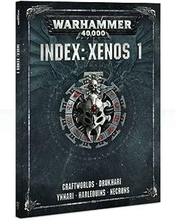Games Workshop Warhammer 40,000 Xenos 1 Index Book