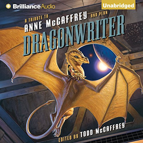 Dragonwriter audiobook cover art