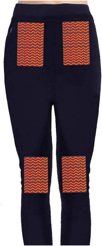 BININBOX Men's Thermal Underwear Pants USB Heated Warm Cotton Long Trousers Leggings