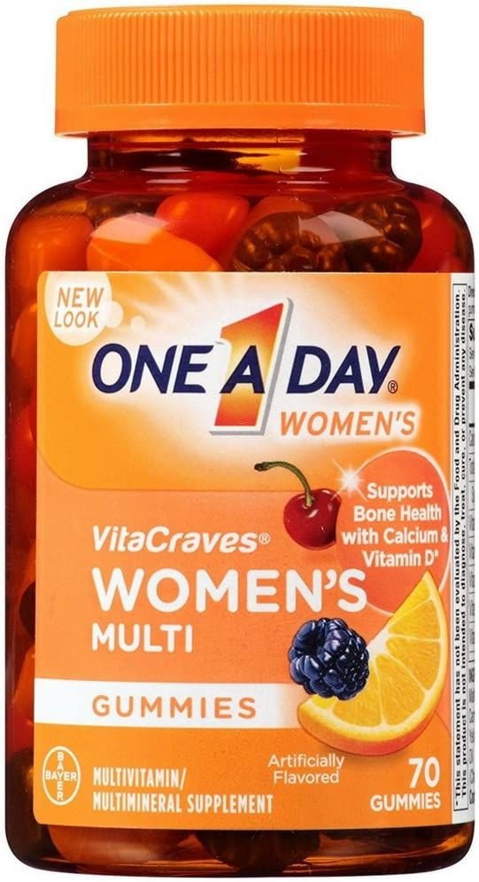 One-A-Day Women's Direct Albuquerque Mall sale of manufacturer VitaCraves Multivitamin Gummies 3 70