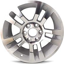 Road Ready Car Wheel For 2014-2018 Chevy Silverado 1500 2015-2018 Suburban 1500 Tahoe 18 Inch 6 Lug Silver Aluminum Rim Fi...