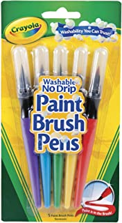 Crayola - Paint Brush Pens - 5 Count