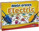 Noris 606013714 Mein erstes Electric, Der Lernspiel-Klassiker, was passt zusammen, Es blinkt, wenn's...