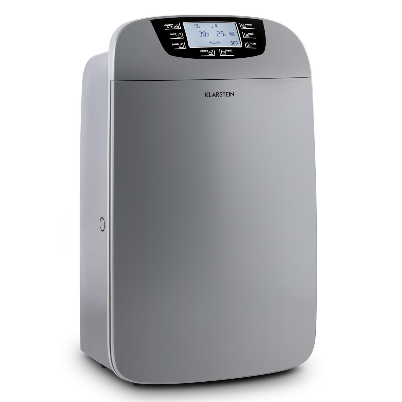 Klarstein Drybest 40 - Deshumidificador 2-en-1, Purificador Aire ...