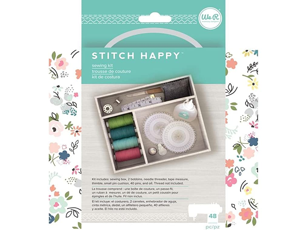 We R Memory Keepers We R Memory Stitch Sth Happy Sewing Kit