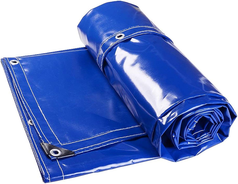 Tarpaulin Tarpaulin Rainproof Cloth Thick Waterproof Tarpaulin Outdoor Sunscreen Awning Cloth Tarpaulin (Size   5x9m)