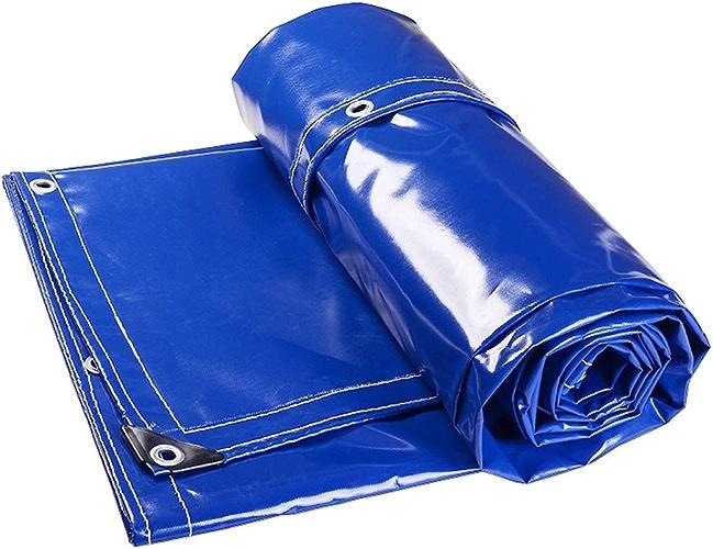 CXSM-Bache Toile Imperméable Toile Renforcée Toile Imperméable Piscine Toile Imperméable Toile Toile Toile Toile Piscine Toile Imperméable Renforcée (Couleur   Bleu, Taille   4x6m)