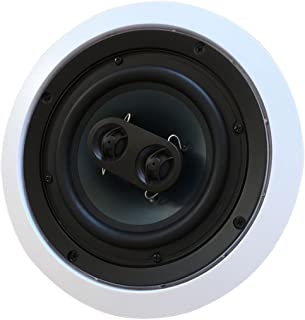 652S2C Silver Ticket in-Wall in-Ceiling Speaker with Pivoting Tweeter (2 Channel Stereo 6.5 Inch in-Ceiling)