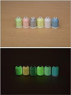 Sinbel Glow in The Dark Embroidery Machine Thread (1100Y 6C)