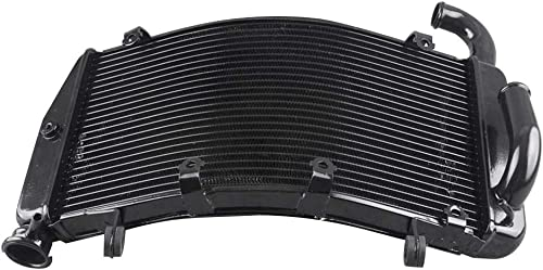 high quality Mallofusa Motorcycle high quality Aluminum Cooling Radiator Cooler Compatible for Ducati high quality 749 749S 749R 999 999S 999R 2005 2006 Black outlet sale