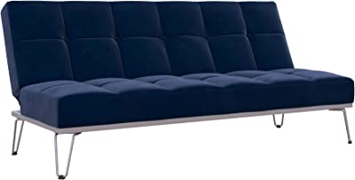 Brilliant Amazon Com Abbyson Jackson Leather Foldable Sleeper Sofa In Onthecornerstone Fun Painted Chair Ideas Images Onthecornerstoneorg