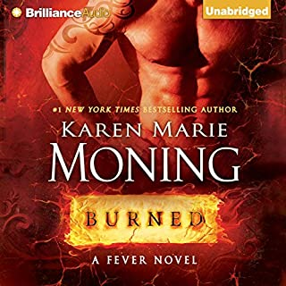 Page de couverture de Burned