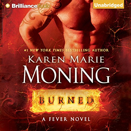 Burned audiobook cover art