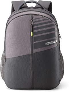 abea4189d1a American Tourister Crone 29 Ltrs Grey Casual Backpack (FG8 (0) 08 101)